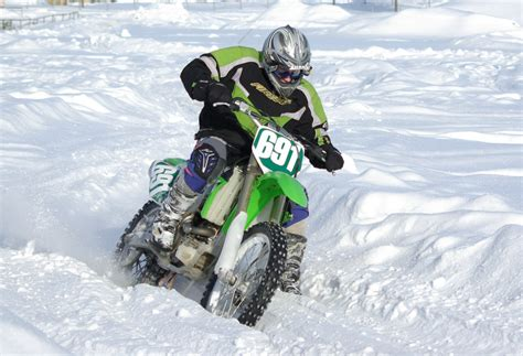 snow motocross motocross in snow pentax user photo gallery