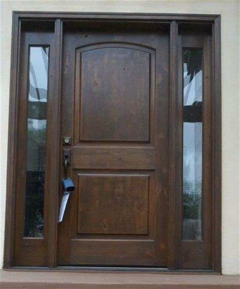Knotty Alder Front Doors Knotty Alder Front Entry Doors With 2 Sidelights Pre