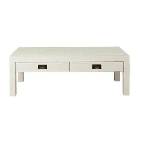 4living s white lacquer coffee table