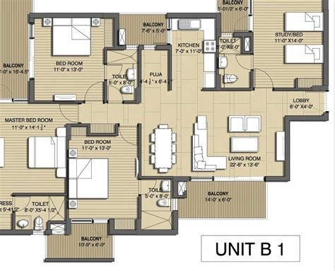 Floor Plans For 3 Bedroom Flats Overview Sushma Chandigarh Grande At Chandigarh Ambala