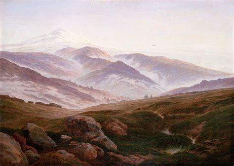 caspar david friedrich the contemplative landscapes of german romantic painter caspar david friedrich