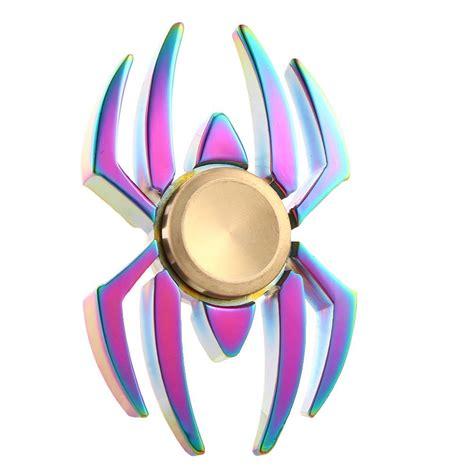 Spinner Fidget Spinner Spider rainbow spider shape fidget spinner spinner edc toys