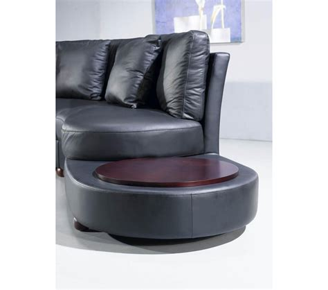 contemporary black leather sectional sofa dreamfurniture ev 2229 contemporary black leather