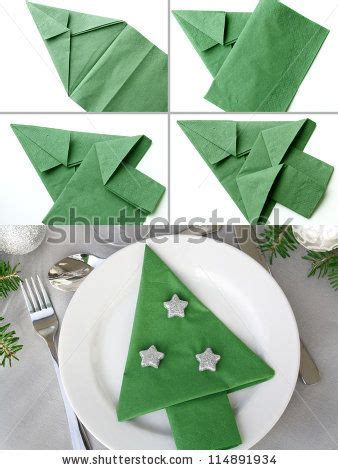 How To Fold Paper Into A Tree - 17 best ideas about tree napkin fold on