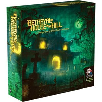 buy betrayal at house on the hill 2nd edition betrayal at house on the hill 2nd edition