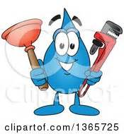 Mascot Plumbing by Royalty Free Rf Clipart Illustration Of A Silhouetted
