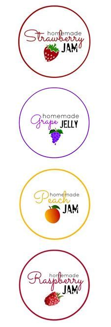 free jam label templates 1000 images about printable lables on free