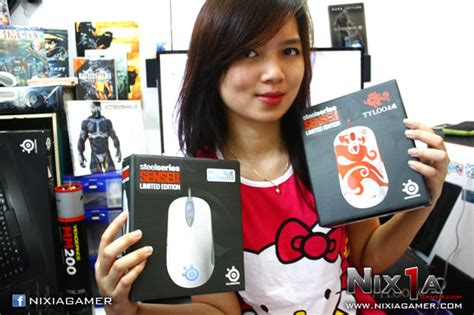 Steelseries Qck Mass By Dextmall review mouse steelseries sensei blue tyloo