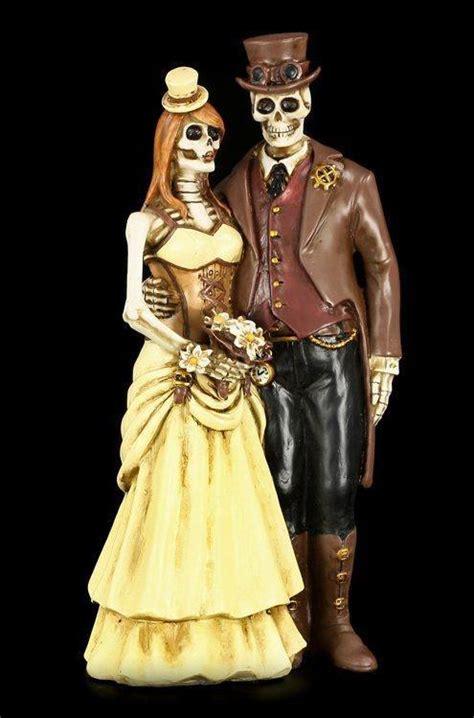 Brautpaar Figuren by Skelett Brautpaar Figur Steunk I Do Www Figuren