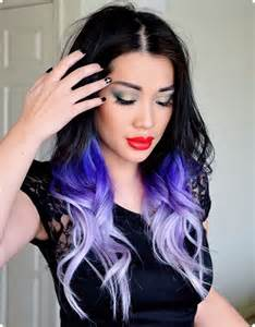 cool colored hair cool brown purple hair black hair color ideas for