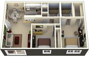 two bedroom apartment luxury apartments 19 awesome 3d apartment plans with two bedrooms part 1