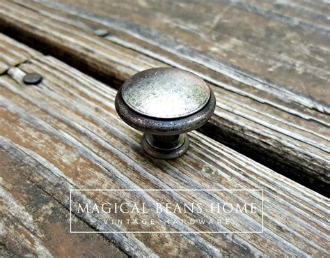 distressed nickel cabinet hardware weathered nickel rustic farmhouse drawer knobs in