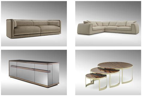 casa sofas new collection from fendi casa at salone del mobile
