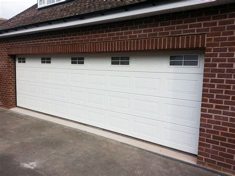 Wide Garage Door by Sectional Garage Doors Halesowen Remote Controlled