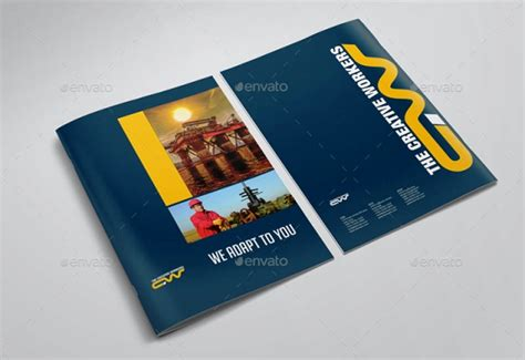 desain brosur di solo contoh brosur perusahaan konstruksi desain kreatif