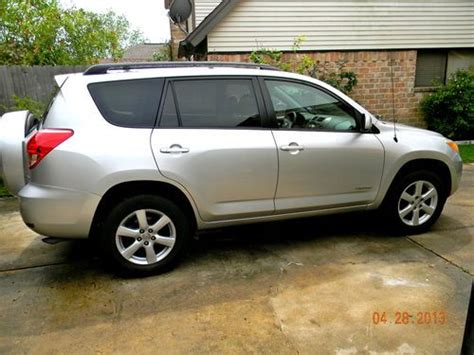 2007 Toyota Rav4 Limited Buy Used 2007 Toyota Rav4 Limited In Sugar Land