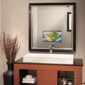 miroir ecran tv une t 233 l 233 vision int 233 gr 233 e au miroir