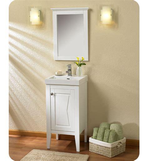 Vanity Combo With Mirror by Fairmont Designs 102 V18 Bowtie 18 Quot Modern Bathroom Vanity