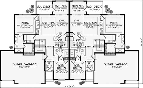 home design 6 bedroom traditional style house plans 5056 square foot home 1