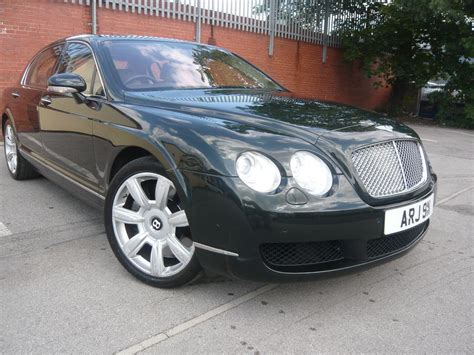 2007 bentley continental flying spur w12 no accidents awd immaculate condition black royal bentley continental flying spur 6 0 w12 4dr auto green 2007 873606
