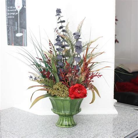 sublime silk floral centerpieces dining table decorating custom spring decor silk flower arrangement home