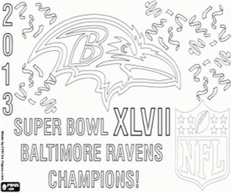 nfl ravens coloring pages american football coloring pages printable games