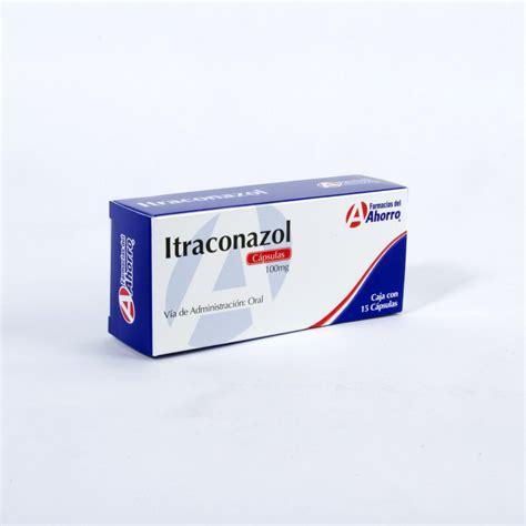 itraconazol 100 mg 15 capsulas medicamentos