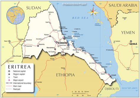 eritrea map not all of eritrea marks an anniversary of freedom mission network news