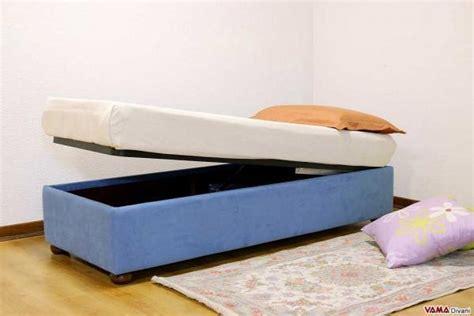 letti singoli con contenitori letti con contenitore
