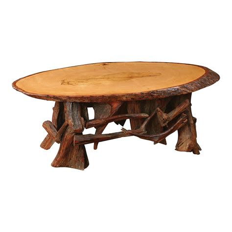 Rustic Log Coffee Table Rustic Log Oval Coffee Table King Dinettes