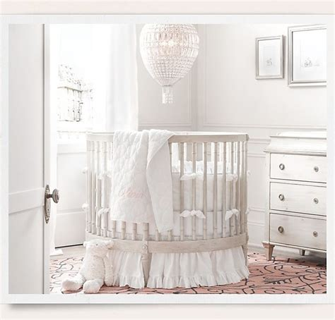 oval baby cribs oval baby crib from baby child restoration hardware