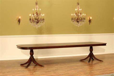 large high  mahogany dining table seats