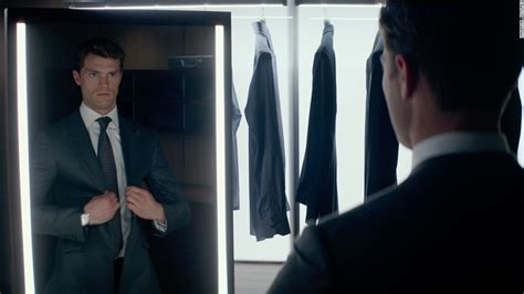 Fifty Shades Of Grey Wardrobe by The Story Christian Grey S Suits Cnn