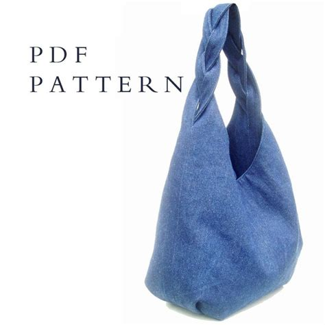 Sewing Pattern Hobo Bag | hobo bag sewing pattern instant download file