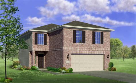 lgi homes hawthorn elevation