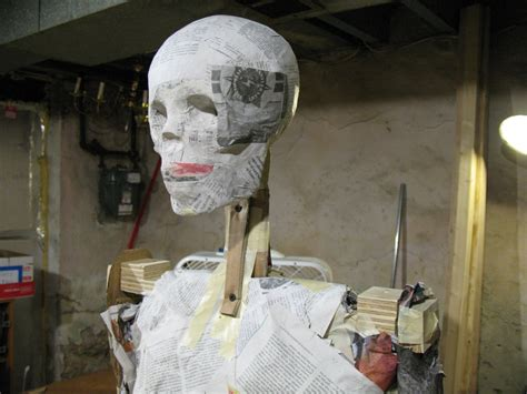 How To Make A Paper Mache Mummy - we aren t mummies or are we in the artifact lab