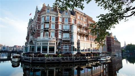 l amsterdam old world charm with modern overtones at amsterdam s hotel