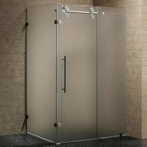 Glass Shower Door Prices Buy Vigo Frameless Glass Shower Doors At Discounted Prices