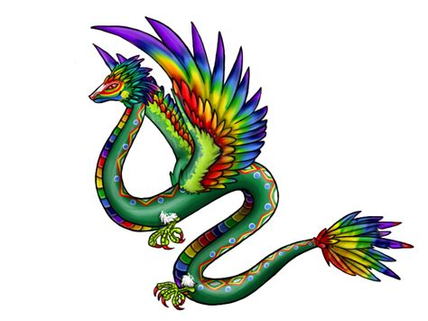 kukulkan the quetzalcoatl by thunderbun on deviantart