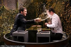 Barkin Throws A Glass Of Water In The Of Ex Husband 2 by Jake Gyllenhaal Throws A Glass Of Water At Jimmy Fallon On
