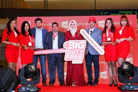 airasia duty free airasia big duty free and simplysiti collaboration takes