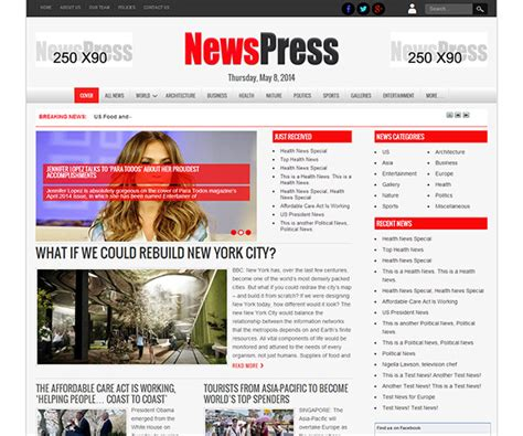 theme newspaper by tagdiv 2014 newspress wordpress theme free newspaper wordpress theme