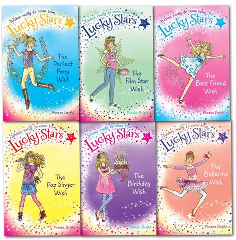 lucky books phoebe bright lucky series collection 6 books set