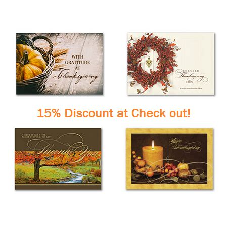 personalized thanksgiving cards for business and family