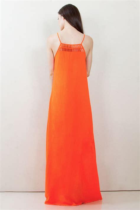 Stripe Maxi Skirt Et Cetera ds d3779 rhea et cetera orange maxi dress d