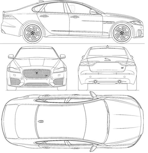 image gallery car measurements image gallery 2016 xf size