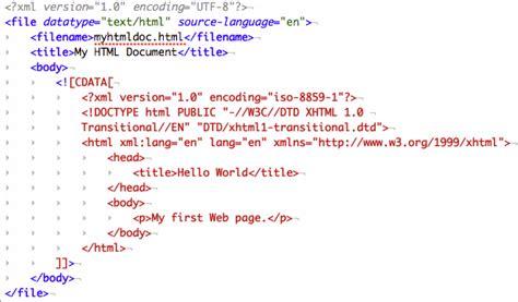 Xml Tutorial Cdata | working with embedded cdata in xml documents