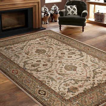 Olefin Pile Rug by Soft Impressions 100 Olefin Pile Rug Collection Ankara Beige