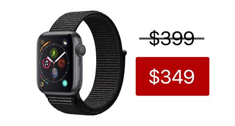 Apple Series 4 349 by Apple Series 4 Hits All Time Low Price For Limited Time