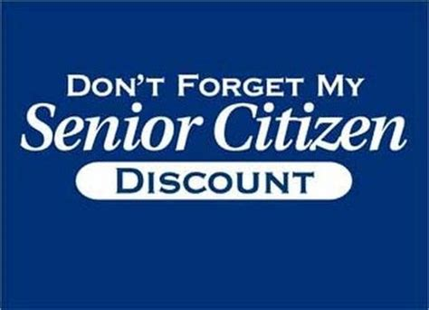 German Offer Senior Citizen Discounts by 16 Best Senior Discounts Images On